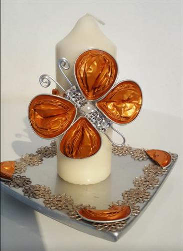 como hacer mariposas con capsulas nespresso