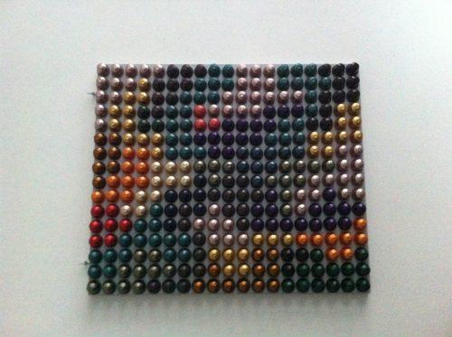 cuadros de capsulas nespresso