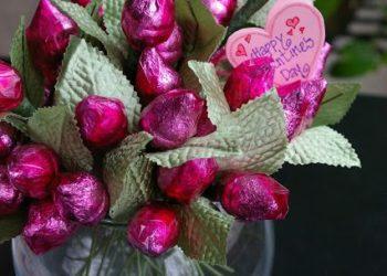 6 ideas de manualidades con flores de papel de celofán