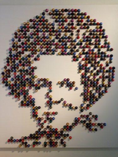manualidades para la pared con capsulas nespresso