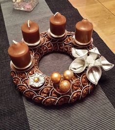 roscon de navidad con capsulas de cafe