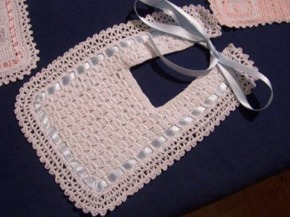 tutorial baberos de crochet