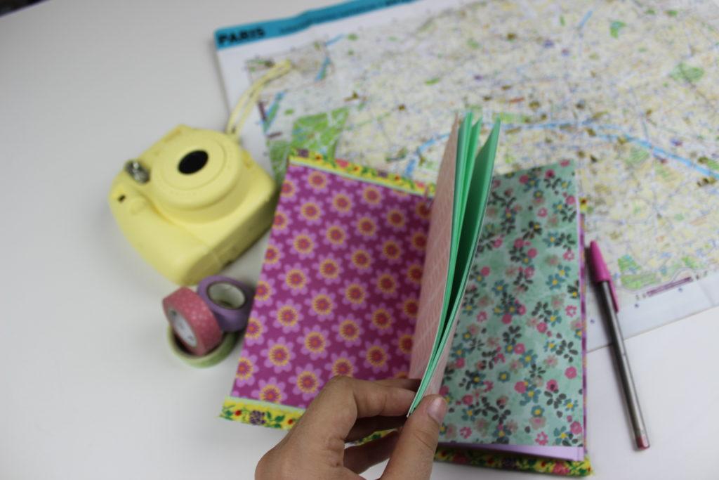 cuaderno de viaje de scrapbook