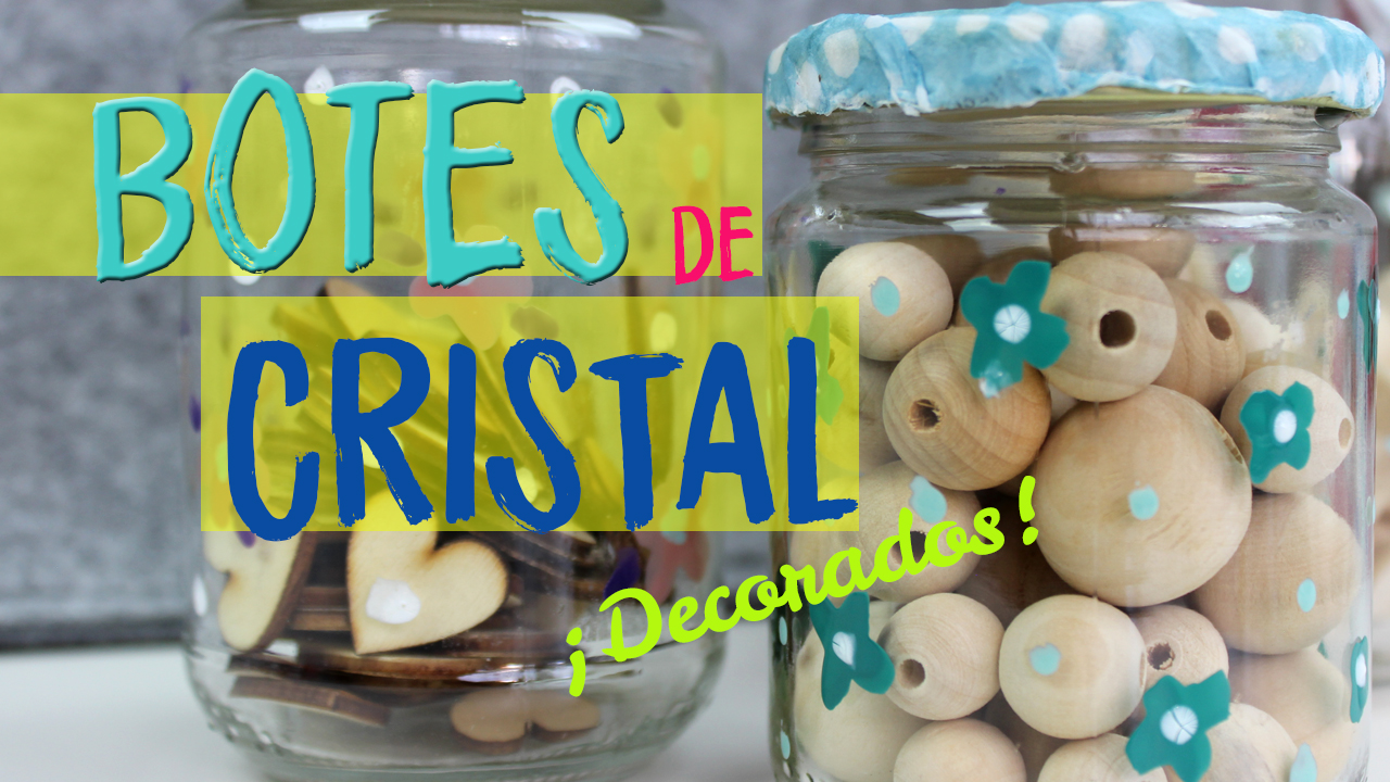 Cmo decorar botes de cristal con servilletas TOP 2018