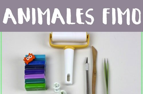 Animales de Fimo