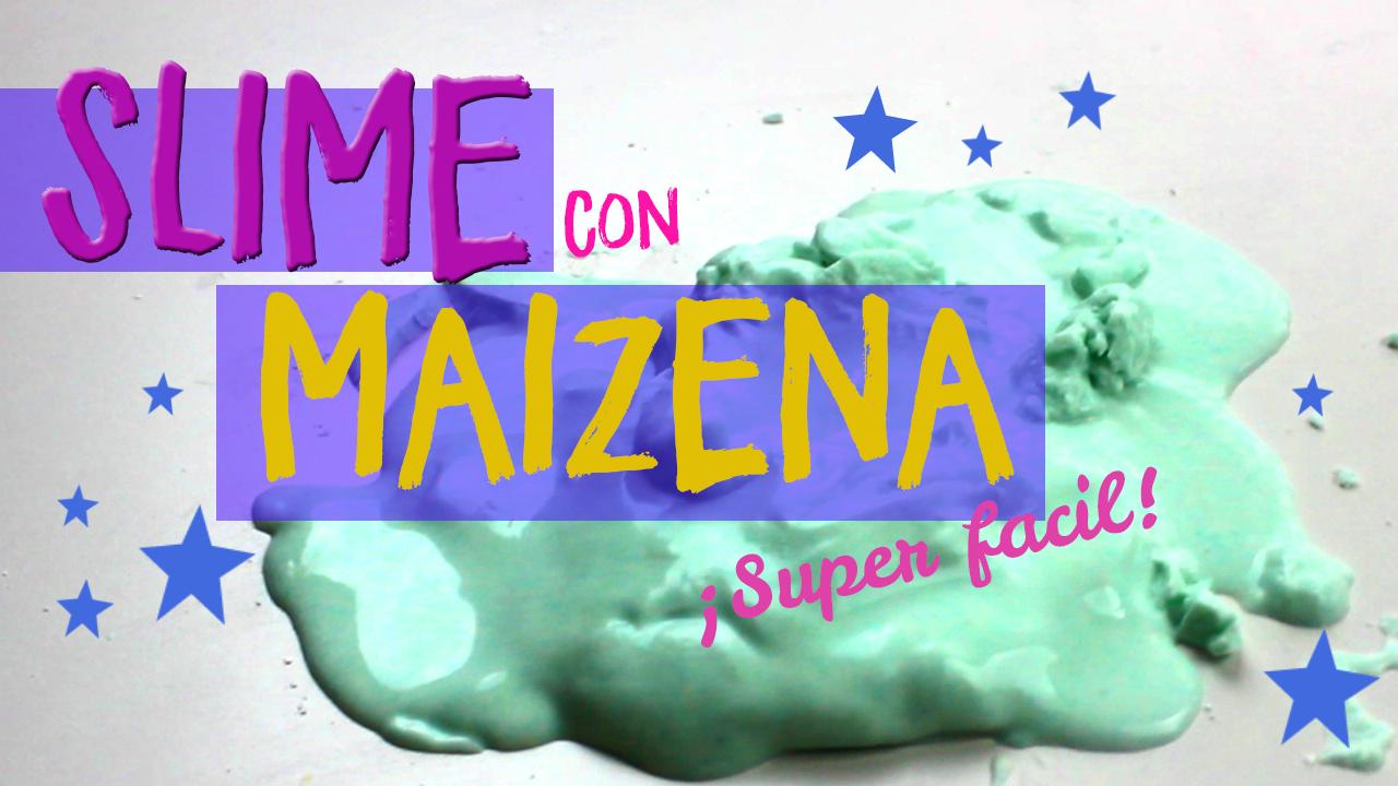 Cómo Hacer Slime Con Maizena Y Sin Borax Top 2019 Uma