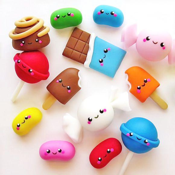 caramelos kawaii