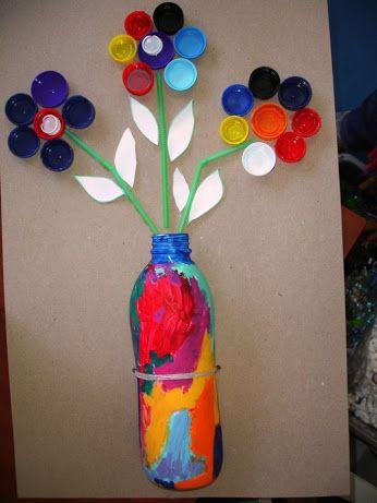 com fer manualitats de reciclatge per nens