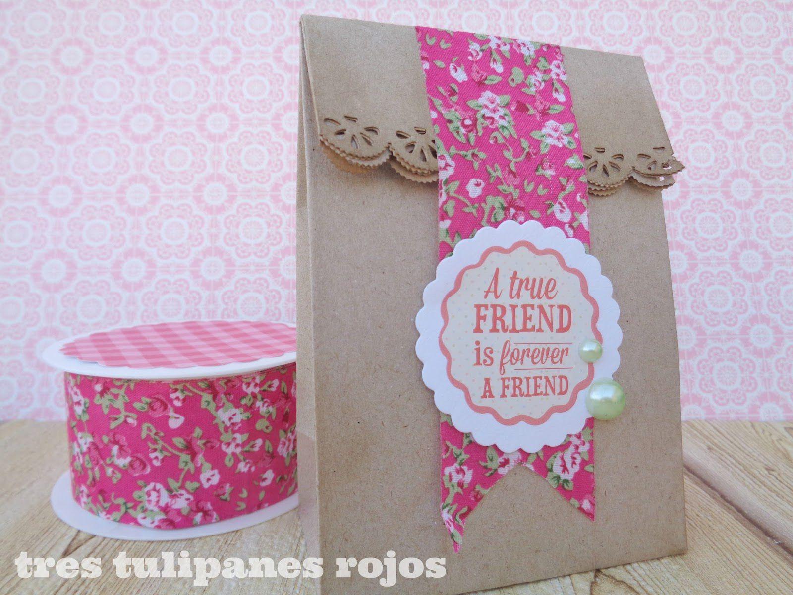 ideas con cinta washi para regalos de comunion
