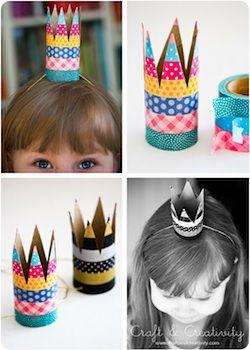ideas con washi tape para celebraciones de cumpleaños