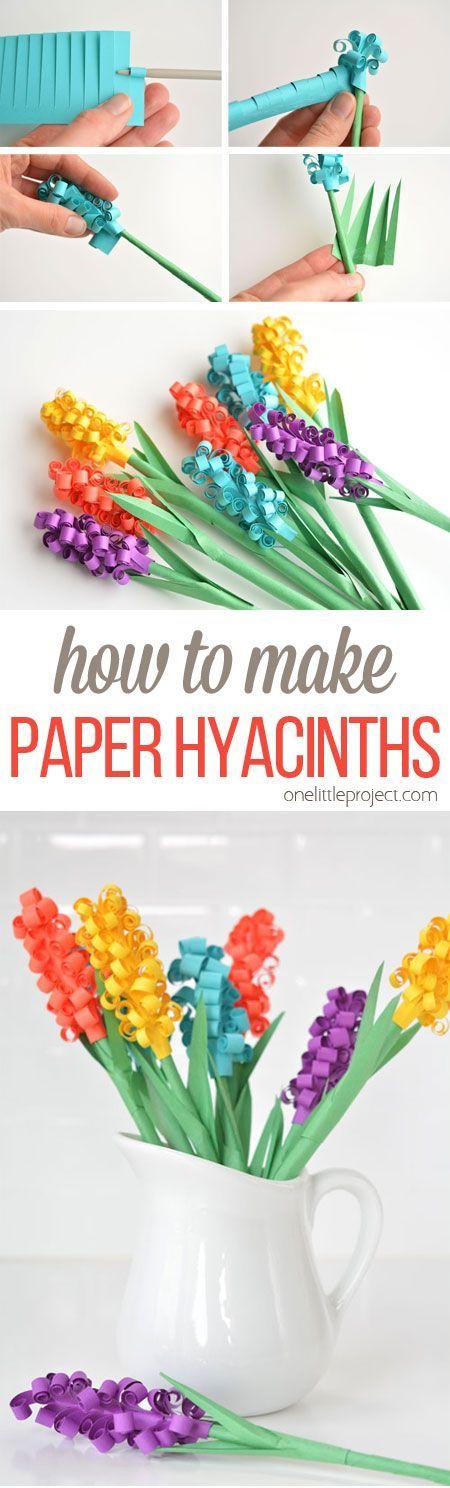 jacintos de papel