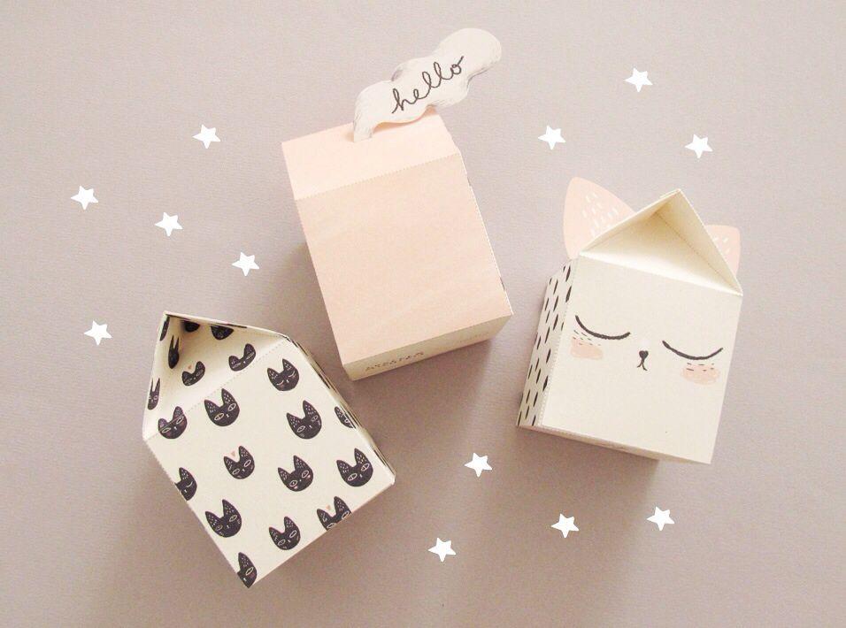 kawaii box manualidades con cajas