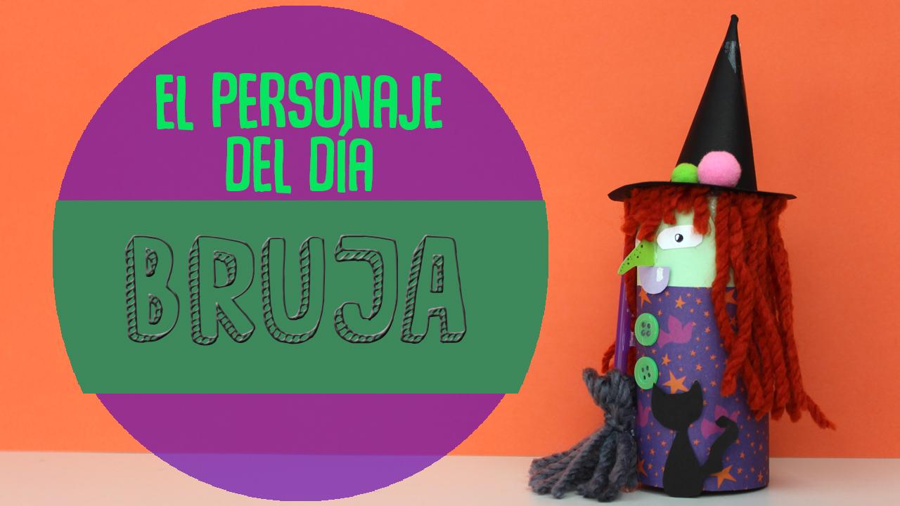 Manualidades de brujas para halloween