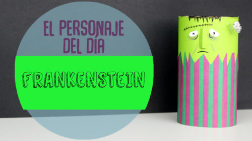 manualidades de frankenstein para halloween