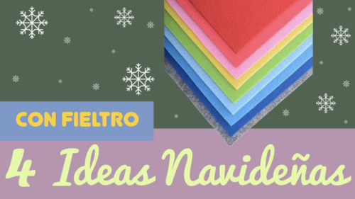 30 ideas fantásticas de manualidades de fieltro para Navidad