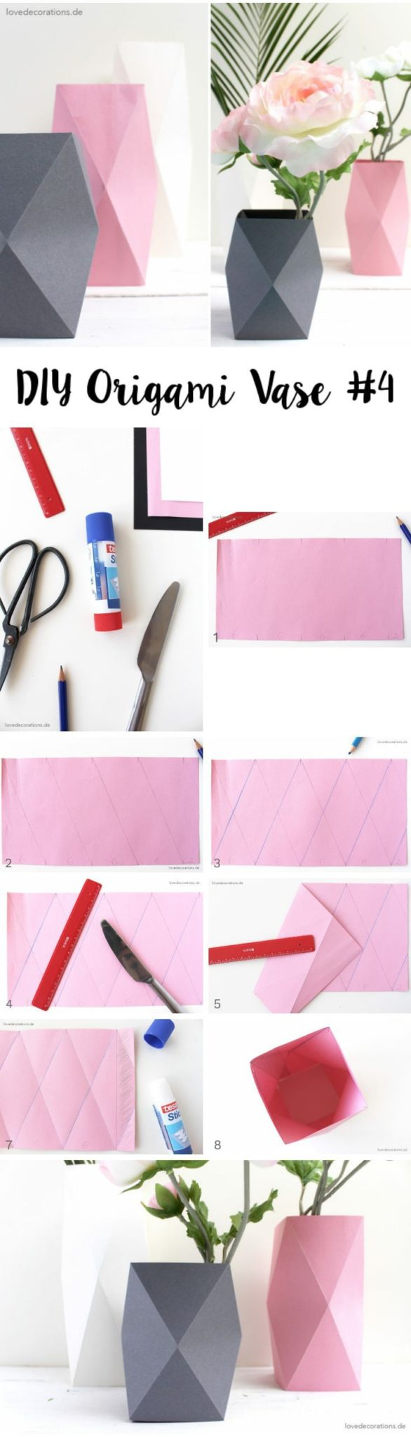 manualidades kawaii de origami