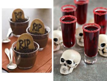 manualidades para mesas de halloween