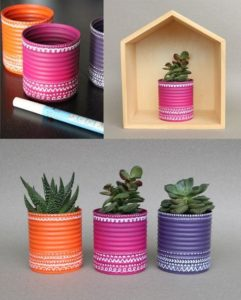 manualitats amb plantes de reciclatje