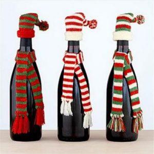manualitats de nadal amb ampolles reciclades
