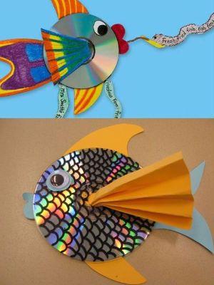 manualitats de reciclatge de peixos