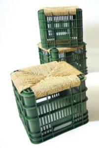 manualitats reciclades per seure
