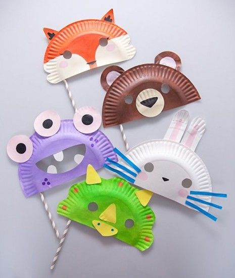 masqueres de manualitats reciclatge infantil