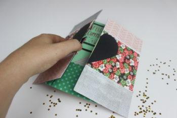 tarjeta explosiva de papel