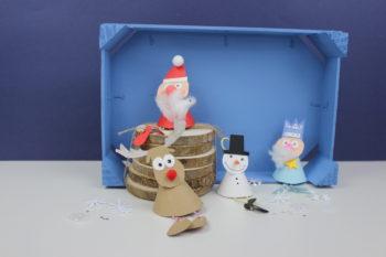 adornos para navidad con papeles