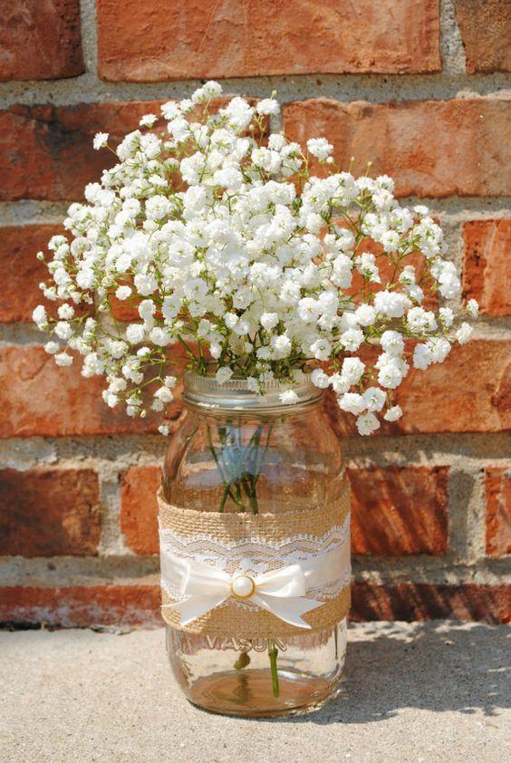 centros de mesa de comunión con flores