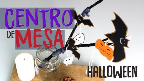 Centro de mesa de halloween