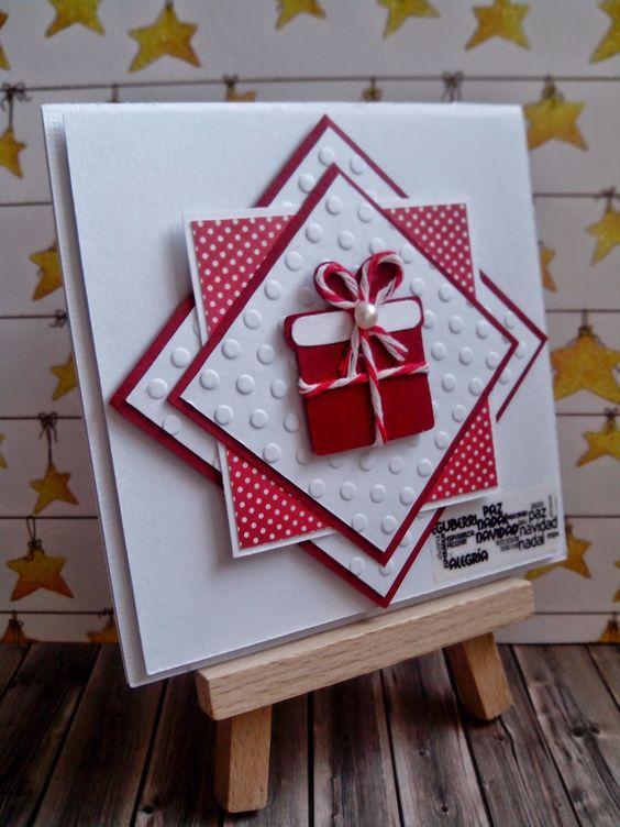 La gu a definitiva para hacer postales de navidad - Tarjetas de navidad manuales ...