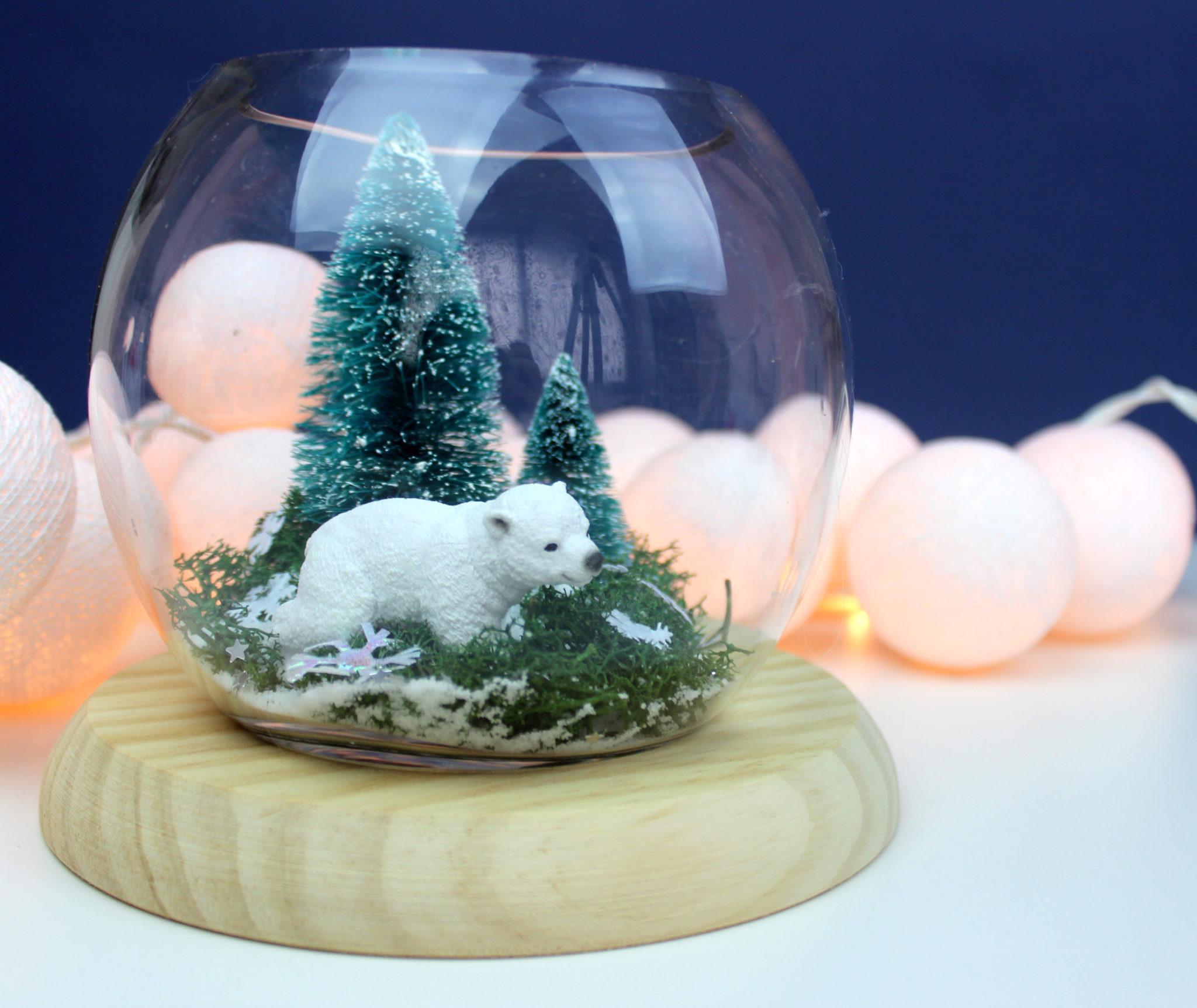 Centro de mesa de navidad de manualidades top 2018 uma - Como hacer un centro de mesa navideno ...