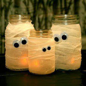 decoració de halloween manualitats per a festes