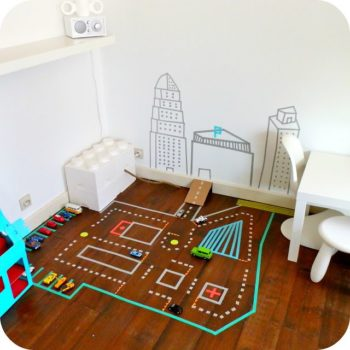 decorar habitacion infantil con washi tape