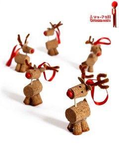 figuras con corcho de navidad para niños