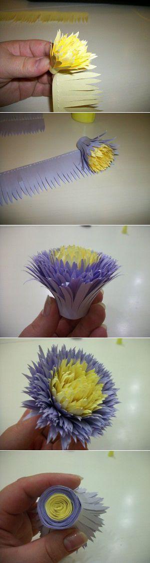 flores de papel para bodas faciles