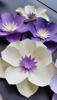 flores de papel para ceremonias