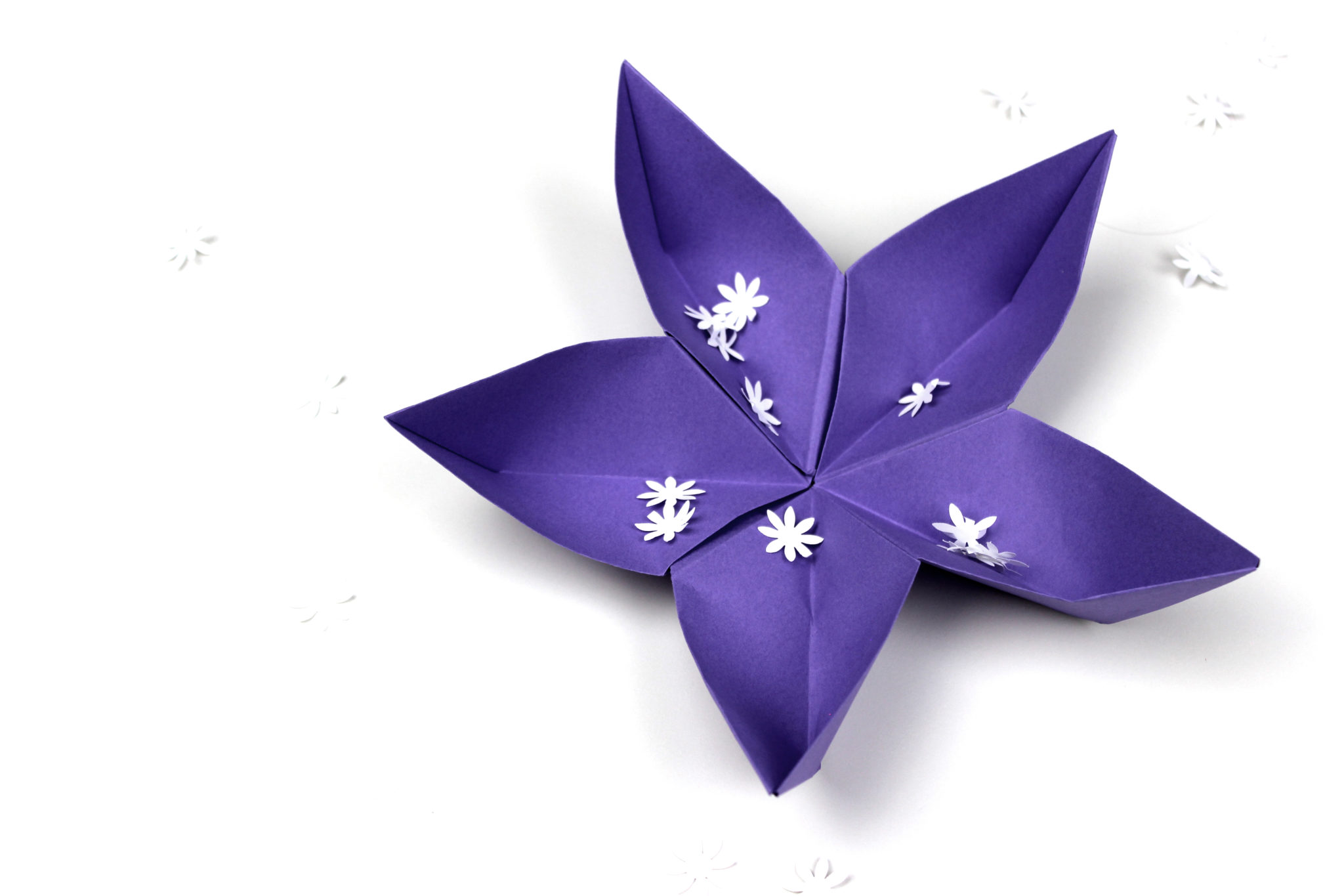 flores de papiroflexia sakura