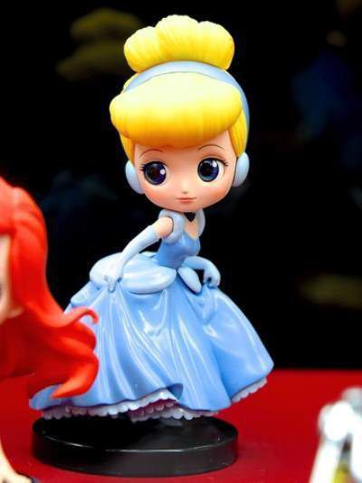fofucha de princesa disney cenicienta