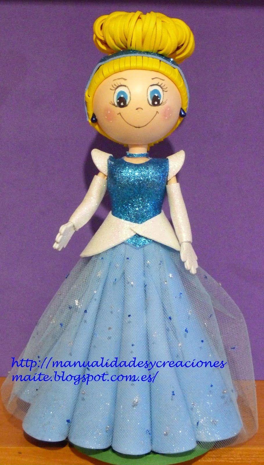 fofucha de princesa disney