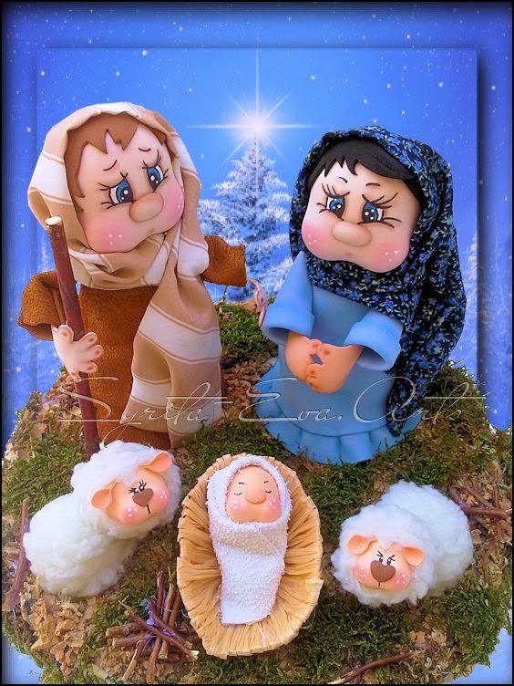 fofucha para navidad
