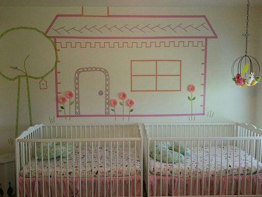 ideas con washi tape para bebes