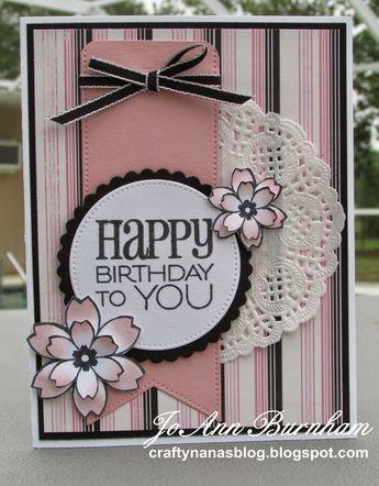 ideas de scrapbook para tarjetas de cumpleaños