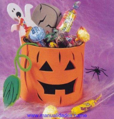 Manualitats de carabasses de halloween