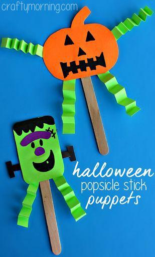 manualidad infantil muy facil de halloween