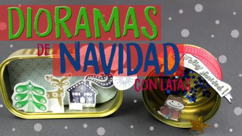 Manualidades de navidad con latas