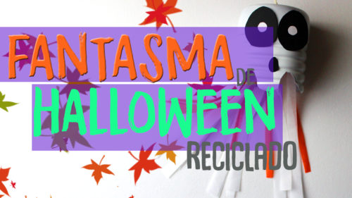 Manualidades de fantasmas de halloween