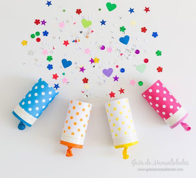 manualidades de fiestas de cumpleaños de niños faciles