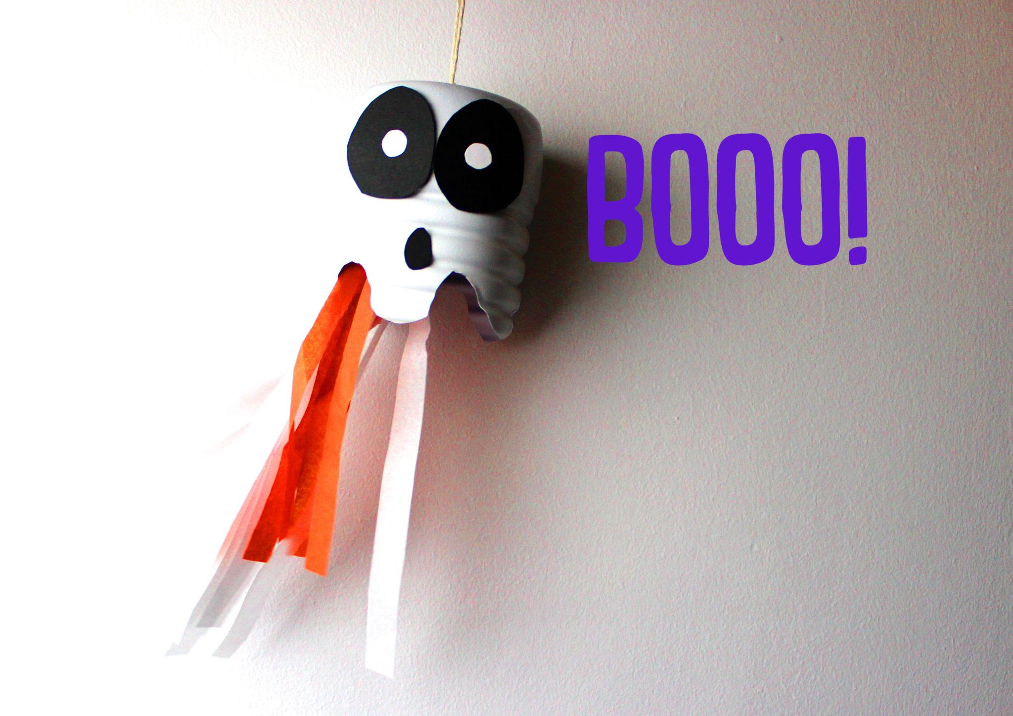 manualidades de halloween de fantasmas