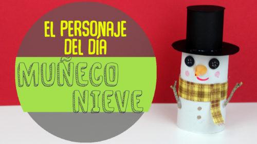 Manualidades de muñecos de nieve